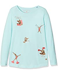 TOM TAILOR Mädchen Langarmshirt Longsleeve with Birds