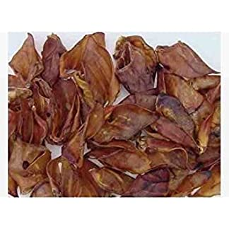 Paws Paradise Quality Heavy British Grade A Pigs Ears, Large 417kLiet3bL