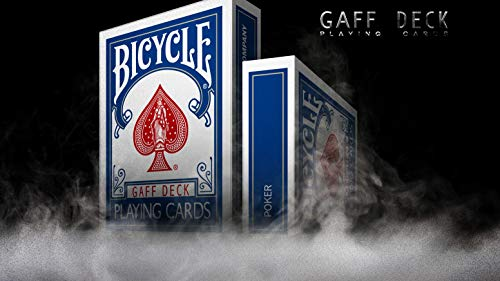 Bicycle Blue Gaff Kartenspiel Spielkarten Deck Playing Cards - Professional Fully Gaffed Magic Every Card is Gaffed - Supreme Value for Money -