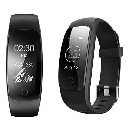 endubro Fitness Armband | Fitness Tracker | Aktivitätstracker | Smart Bracelet | Schrittzähler | Benachrichtigungen | Fitness Uhr Wasserdicht IP67 für Android und IOS (i5 Plus)