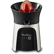 Moulinex Vitapress Direct Serve PC603D10 - Exprimidor, 100 W, directamente en el vaso, 3 conos para limones, naranjas, pomelos [Clase de eficiencia energética A++] (Reacondicionado Certificado)