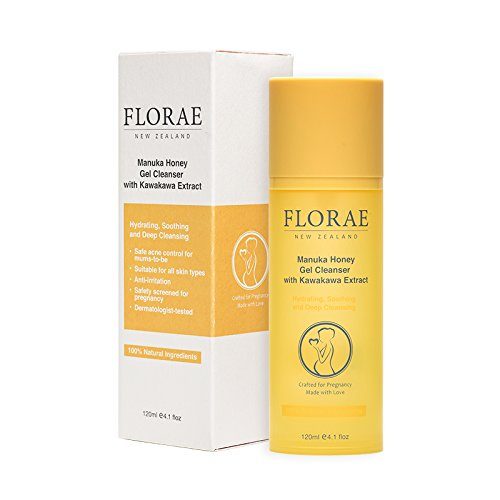 Florae - Purifying Gel Cleanser - Wash Away Impurities and Excess Oil, Giving the Skin a Healthy, Clear Glow - contains Manuka Honey and Kawakawa Extract (30ml, 1.1floz.)