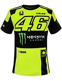 489904f6450 VR46 Valentino Rossi Monza Monster Energy MotoGP T-Shirt pour Homme