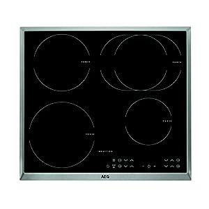 AEG HKA 6325 IND Integrado Con – Placa (Integrado, Con placa de inducción, Negro, Acero inoxidable, 1400 W, 14,5 cm…