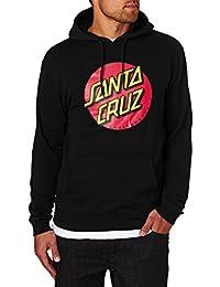 Santa Cruz Hoodies - Santa Cruz Classic Dot Hoodie - Black