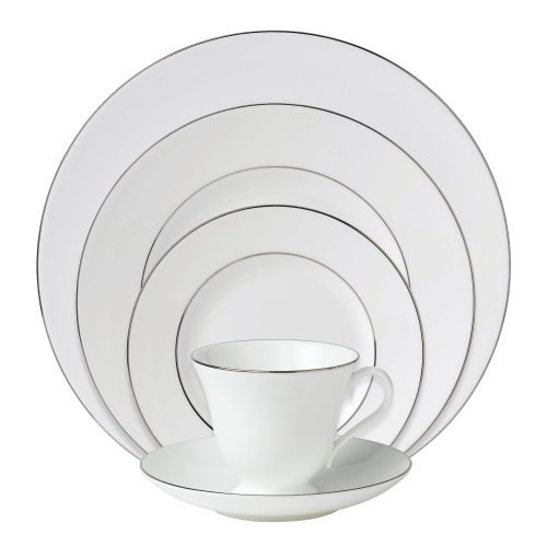 Wedgwood Signet Platinum 5-Piece Dinnerware Place Setting, Service for 1 by Wedgwood (1 Wedgwood)