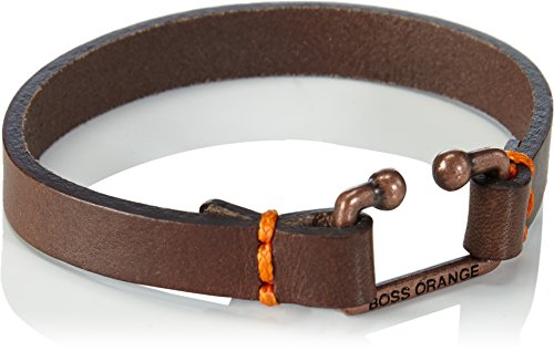 Boss Orange Morris-Cintura da Uomo, Marrone (Dark Brown 201), Taglia unica