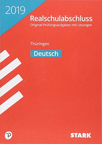 Original-Prüfungen Realschulabschluss - Deutsch - Thüringen