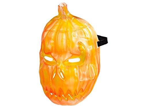 Alsino Halloween Maske Zombie Spooky Mask Horrormaske Gruselmaske, Variante wählen:P973008 Kürbis