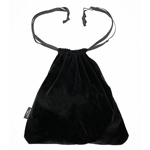 Bolsa de terciopelo para secador de pelo o zapatos - Tela gruesa y lujosa para mantener seguros tus electrodomésticos o calzado - la bolsa tiene dos bolsillos internos