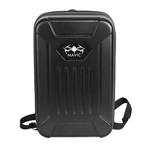Anbee Harte Schale Transportkoffer Backpack Rucksack Case für DJI Mavic Pro Drohne (Schwarz)