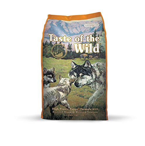 Taste of the Wild Complete Dry High Prairie with Roasted Venison and Bison Puppy Food, 6 kg