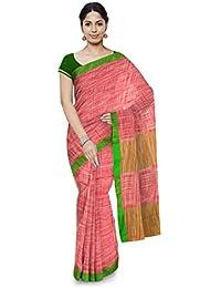 TJ Sarees Cotton Saree With Blouse Piece (Tj 39_Multicolor_Free Size)