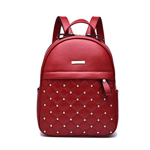 Frauen Rucksack Hot Sale Mode kausale Taschen Raupe Schultertasche PU Leder Rucksäcke für Mädchen