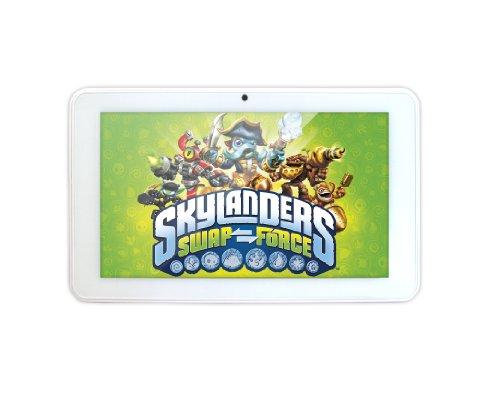 Skylanders 7-inch Premium Tablet (White) – (ARM 1.2GHz, 512MB RAM, 4GB Memory, Android 4.1)