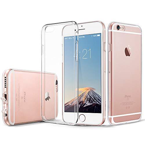ESR iPhone 6 Plus Hülle, iPhone 6s Plus Hülle, [0.8mm] Ultradünne, klare, weiche TPU-Silikonhülle aus Gel für 5,5 Zoll iPhone 6 Plus / 6s Plus (Jelly Clear)
