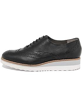 ARNALDO TOSCANI - DONNA - scarpa stringata in pelle - 2110608_GLASS_LUX_NERO_TS