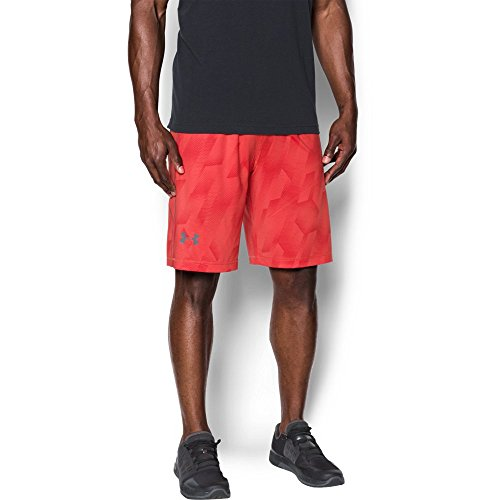 Under Armour UA Raid Novelty, Pantaloncini da Uomo Pomegranate