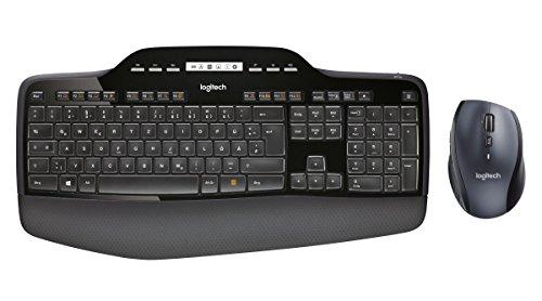 Logitech MK710 Wireless Desktop Combo Tastatur und Maus (QWERTZ, deutsches Tastaturlayout)