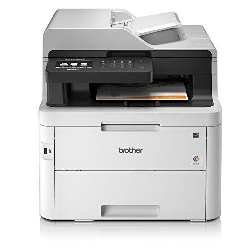 Brother MFC-L3750CDW Imprimante Multifonction 4 en 1 Laser - Couleur - Silencieuse 47db - Mémoire...