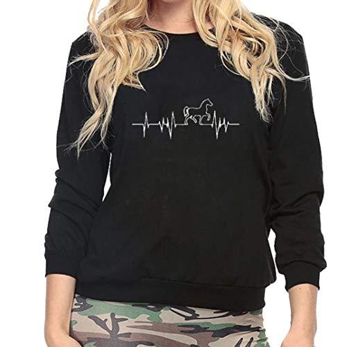 TianWlio Damen Hoodie VickyHood Damen Hoodie Kapuzenpullover Pullover mit  Kapuze Cross-Over-Kragen. 0cccee8663