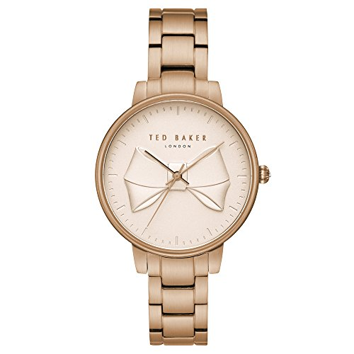 Ted Baker Womens Analogue Quartz Watch With Stainless Steel Strap Te15197002