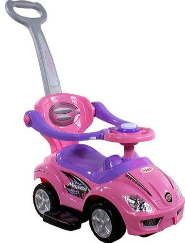Baby Spielzeugauto ARTI 381 Mega Car Deluxe Pink Rosa Lauflernhilfe Lauflernwagen Kinderfahrzeuge