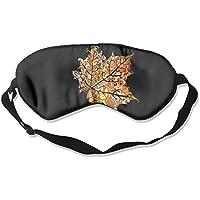 Comfortable Sleep Eyes Masks Colored Leaf Pattern Sleeping Mask For Travelling, Night Noon Nap, Mediation Or Yoga preisvergleich bei billige-tabletten.eu