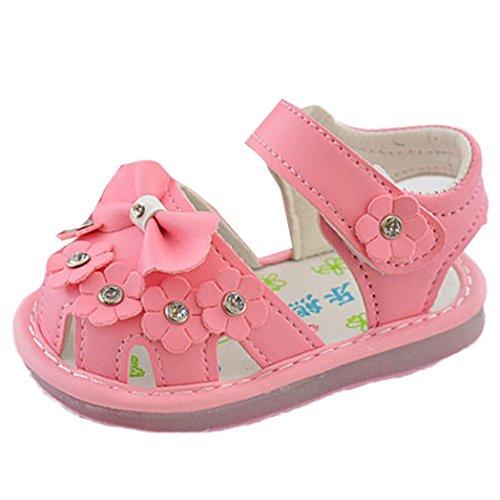 De Da Moda Sandálias Flor Princesa Bzline® Meninas Sapatos Rosa Verão Bowknot 1xnHFRB