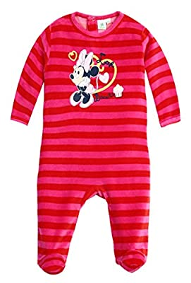 Pijama Rayas bebé niña Minnie Disney Baby Rosa de 3a 23meses