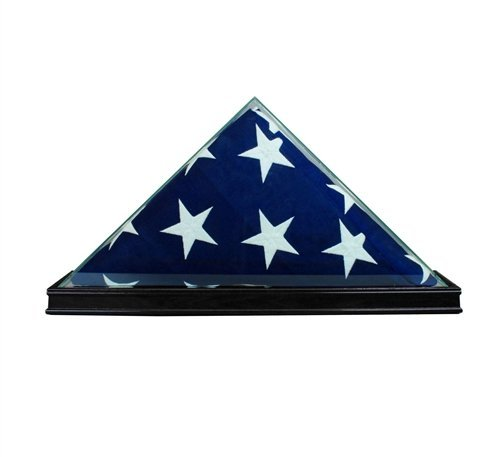 g Display Case Box (NOT for Burial Funeral Flag), Black by Perfect Cases (Flag Display-box)
