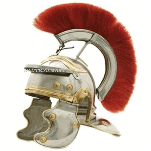 Roman Centurion Helmet with Red