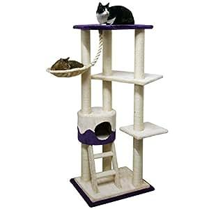kerbl arbre chat lilly ii 150 cm animalerie. Black Bedroom Furniture Sets. Home Design Ideas