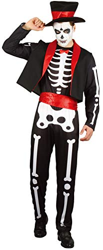 U LOOK UGLY TODAY Halloween Kostüm Herren Skelett -