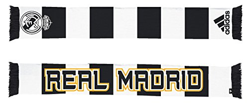 Real Madrid Soccer Futbol Adidas Authentic S386 Jacquard Team Scarf Bufanda