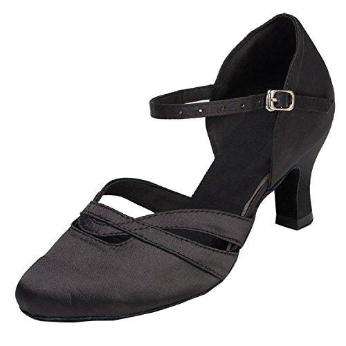Minitoo , Damen Ausgehschuhe , schwarz - Schwarz - Größe: 38