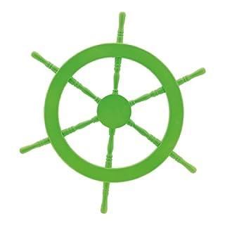 Abama, Durchschnitt: 60cm Steuerrad, Holz, grün