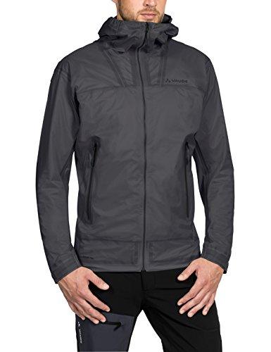 Vaude Herren Zebru UL 3L Jacket Jacke, Iron, L -