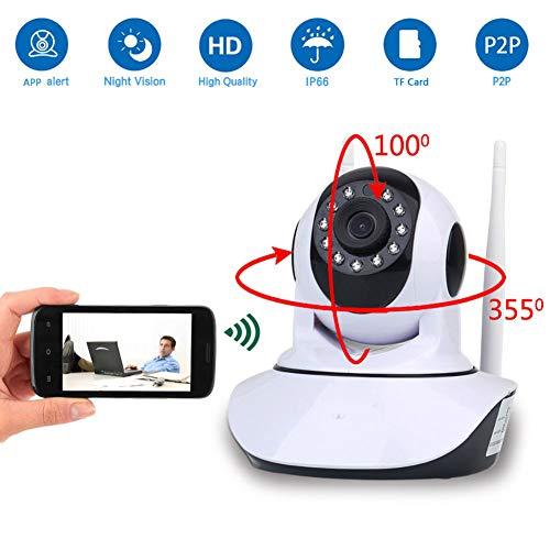 Preisvergleich Produktbild W&Z Kamera WiFi Kamera Fernüberwachung Kamera HD 1080P 2MP Kamera Intelligente Bewegungsmeldekamera mit Nachtsicht für Sicherheit und Pflege