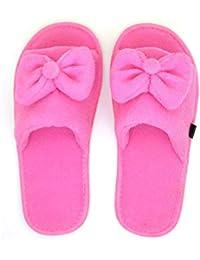 MF Kids Open Toe Slippers for Kids Girls Bow Design