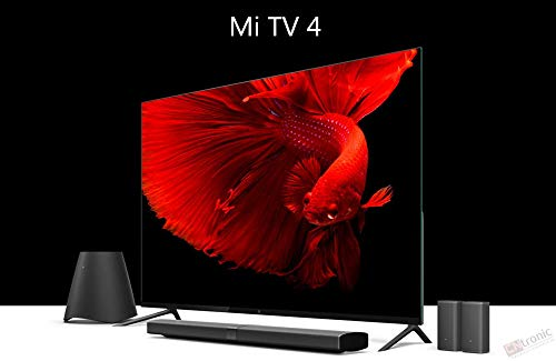 Original Xiaomi Mi TV 4 65 Inch Inch Smart TV English Interface Real 4K HDR Ultra Thin Television 3D Dolby Atmos WiFi/BLE Connect