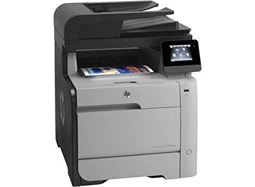 HP CF386A Stampante Multifunzione Color LaserJet Pro M476DN, Stampa/Copia/Scansione/Fax, Grigio Scuro/Bianco