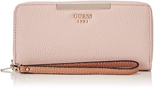 Guess Damen Slg Wallet Geldbörse, Mehrfarbig (Rose Multi), 2x10x21 centimeters (Guess Portemonnaie)