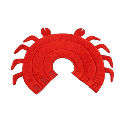 Maycong Hunde Geschirre Schützender Hundehalsband-Hund-Beißring für Kleine mittelgroße Hunde (Hummer)