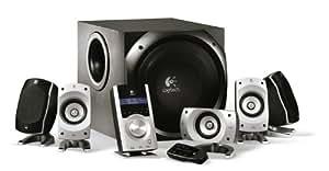 Logitech Z5500 Digital PC Multimedia Home Theatre Speaker System - 505 Watt (Total)
