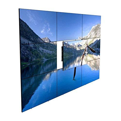 Exing TV Wall Bracket, Full Motion Swivel Tilt TV Wall Mount Bracket Pop-Up TV Rack Ultra-Thin TV Screen Bracket for Most Plasma LED/LCD/HD 23