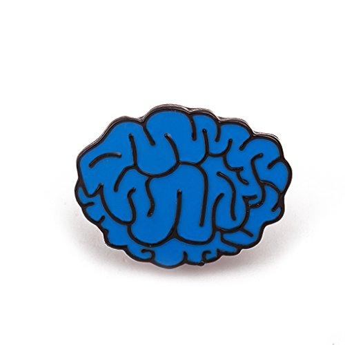 Broche pin Cerebro azul