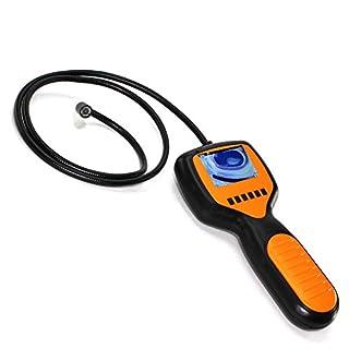 FISHTEC ® Kamera Endoskop 2 LED - Wasserdicht - LCD-Display - Foto & Video