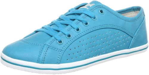 Buffalo 507- V9987 TUMBLE PU 144484 Damen Sneaker Türkis (TURQUOISE 25)