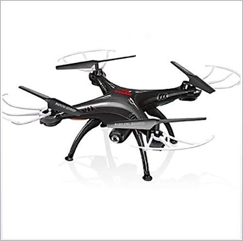 shengshiyujia RC Drohne X5SW 4 Kan?le 6 Achsen 2.4G Mit HD - Kamera 0.3MP 480P Ferngesteuerter Quadrocopter FPV/LED-Lampen/EIN Schlüssel Für,Black